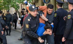 הומו נעצר באזרבייג'ן (צילום: מתוך פייסבוק)
