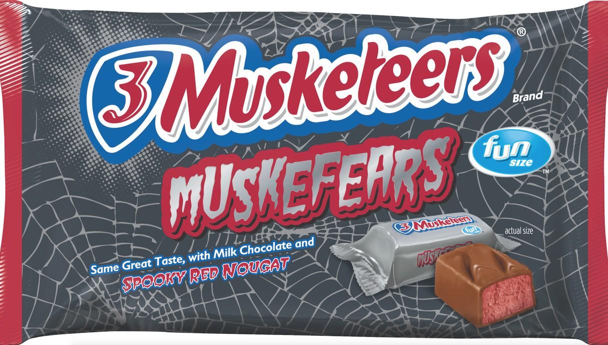 3 Muskefeers bars