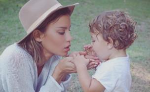 נטלי דדון והבן (צילום: instagram)