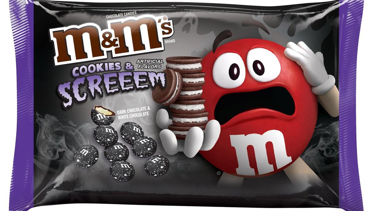 m&m cookies and scream