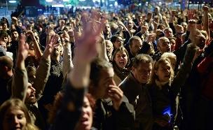 המהומות בקטלוניה (צילום: רויטרס)