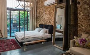 דירה להשכרה ב-Airbnb בשכונת נווה צדק בתל אביב (צילום: יחסי ציבור)
