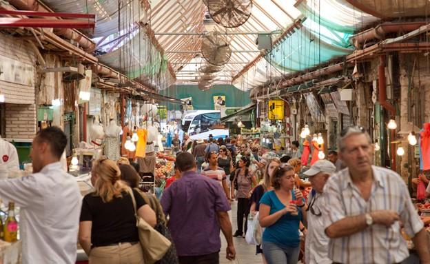 שוק מחנה יהודה (צילום: יורם אמיר,  יחסי ציבור )