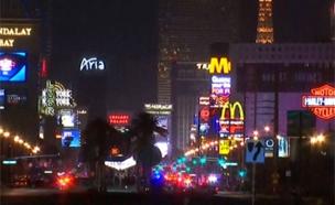 חשש בלאס וגאס מפגיעה בתיירות (צילום: sky news)