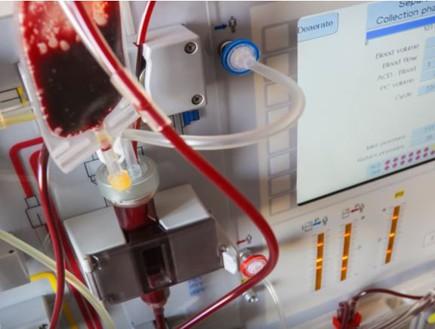 ניסוי לוקמיה (צילום: Youtube/Wochit News)
