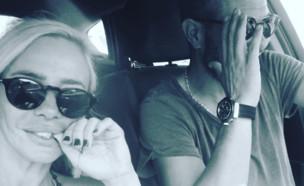 מורן אייזנשטיין ובן הזוג (צילום: instagram)