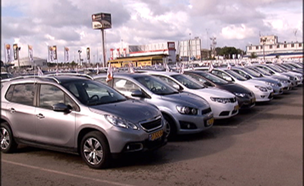 ליסינג, רכב שכור (צילום: חדשות 2)