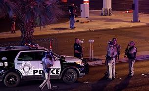 זירת הירי בלאס וגאס, בשבוע שעבר (צילום: רויטרס)