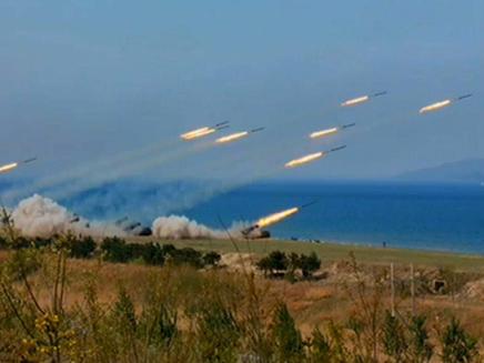 תרגיל צבאי בצפון קוריאה