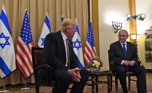 """בלחץ נתניהו, טראמפ ייסוג מההסכם? (צילום: קובי גדעון / לע""""מ)"""