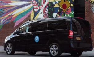 רכב הסעות של ויה. איגוד המוניות מביא לישראל את בשורת המוניות השיתו (צילום: יחסי ציבור, TheMarker)