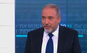 """""""נתמודד עם אירן גם ללא ארה""""ב"""". ליברמן (צילום: חדשות 2)"""