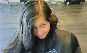 טורין בנרמן שיער לחולי סרטן (צילום:  Photo by Flash90)