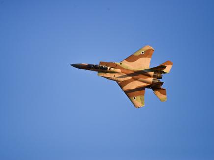 מטוסי F-15 של חיל האוויר (ארכיון)