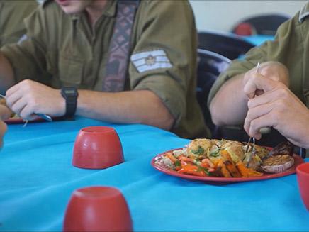 החיילים מרוצים מהשינויים במטבח