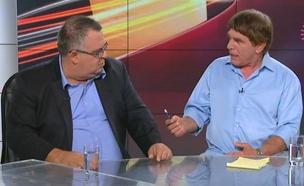 צפו בריאיון ובוויכוח בעימות (צילום: חדשות 2)