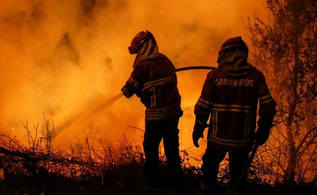 לפחות 39 הרוגים בשריפות (צילום: רויטרס)