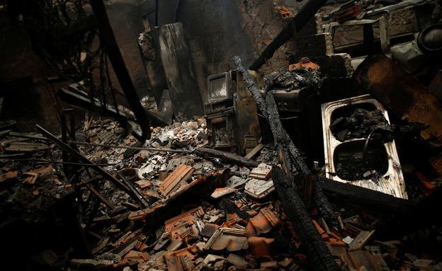 ההרס בפורטוגל (צילום: פורטוגל)
