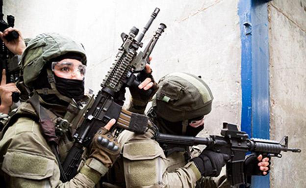 פעילות כוחות הביטחון הלילה בג'ילזון (צילום: דוברות המשטרה)