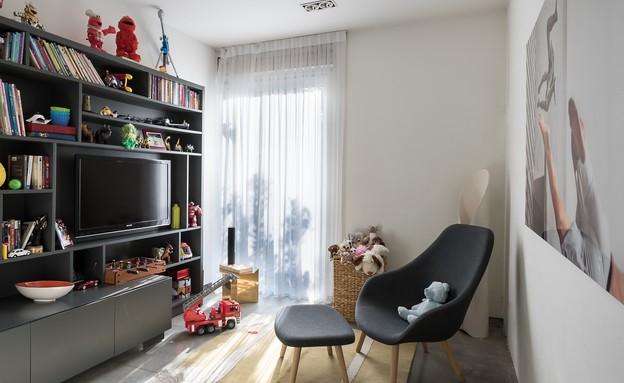 חדר משחקים בעיצוב מיכל האן (צילום:  עמית גירון)