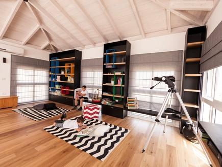 חדר משחקים בעיצוב עדי ארונוב (צילום: יחסי ציבור)