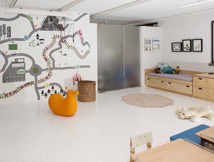 חדר משחקים בעיצוב עדי טריפון -לStudioTD (צילום: יחסי ציבור)