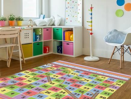 שטיח סולמות וחבלים של קרן דניס (צילום: יחסי ציבור)