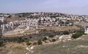 מזרח ירושלים. חשד לעבירות בנייה (צילום: חדשות 2)