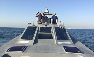 """דרמה בלב ים: """"שוקעים במהירות"""" (צילום: חברת חשמל)"""