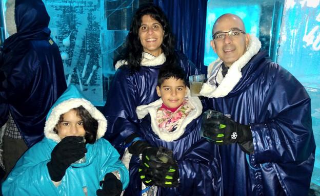 משפחה מטיילת (צילום: יחסי ציבור)
