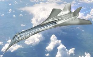 איך יראו המטוסים בעתיד? (צילום: יחסי ציבור, shutterstock)