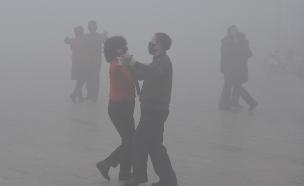 זיהום אוויר בסין (צילום: רויטרס)