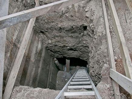 החפירות באזור מנהרות הכותל