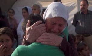 הילדים ששבו הביתה אחרי שנים בשבי (צילום: CNN)