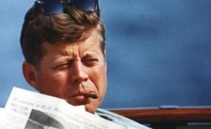 """נשיא ארה""""ב לשעבר ג'ון פ' קנדי (צילום: רויטרס)"""