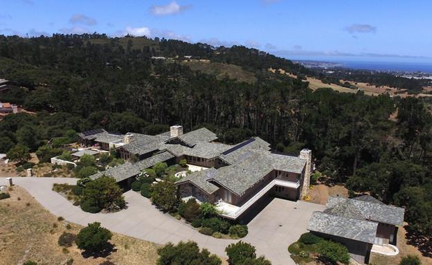 בתים למכירה 01_ אחוזה במונטריי קליפורניה עם נוף לים (צילום: יחסי ציבור)
