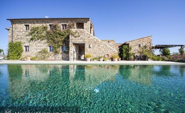 בתים למכירה 02_ בית כפרי משוחזר באיטליה (צילום: יחסי ציבור)