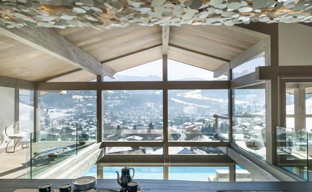 בתים למכירה 03_ נוף מושלג להרי האלפים (צילום: יחסי ציבור)