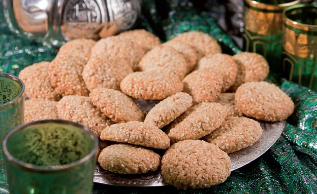 עוגיות שומשום (צילום: אנטולי מיכאלו, העוגיות המרוקאיות של אמא, הוצאת קוראים)