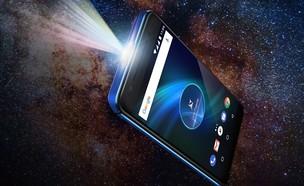 סמארטפון עם מקרן Allview X4 Soul Vision (צילום:  יחסי ציבור )