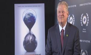 צפו בריאיון המלא עם אל גור (צילום: חדשות 2)