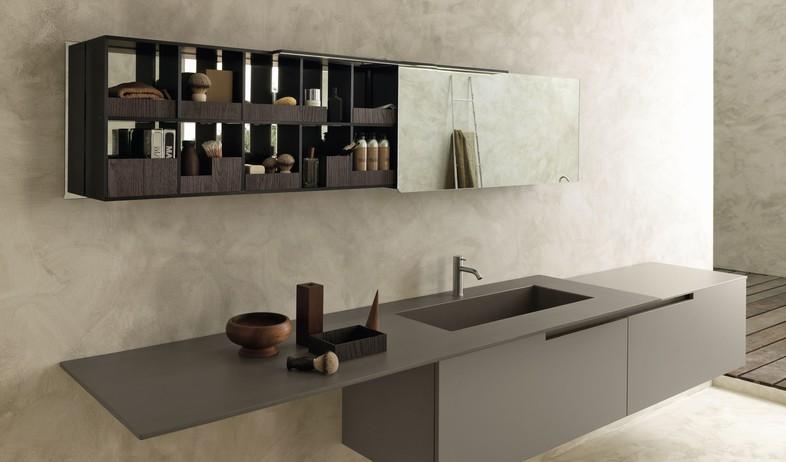 ארונות אמבטיה - עיצוב איטלקי איכותי במודולנובה (צילום: יחסי ציבור)