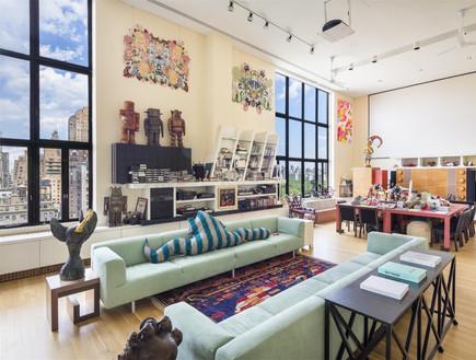 בתים למכירה 06_ פנטהאוז אמנותי בניו יורק