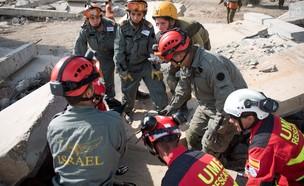 """אימון חילוץ (צילום: דובר צה""""ל )"""