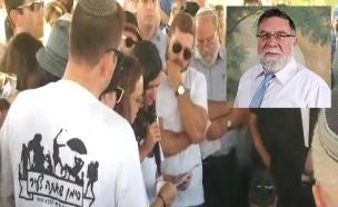 """הלוויתו של שמרלינג ז""""ל (צילום: ערוץ 7)"""