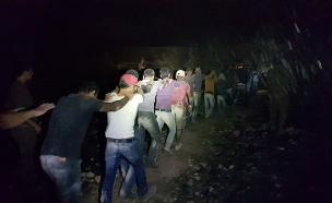 צפו בתיעוד המעצר (צילום: דוברות המשטרה)