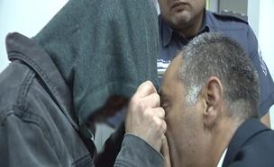 המורה החשוד בבית המשפט (צילום: חדשות 2)