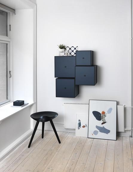 אחסון חורף03_ קופסאות מודולריות לתלייה על הקיר (צילום: יחסי ציבור)