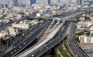 ממחר: אורות בכבישים בינעירוניים (צילום: רכבת ישראל)