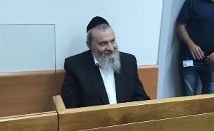 שמעון שר בבית המשפט (צילום: חדשות 2)